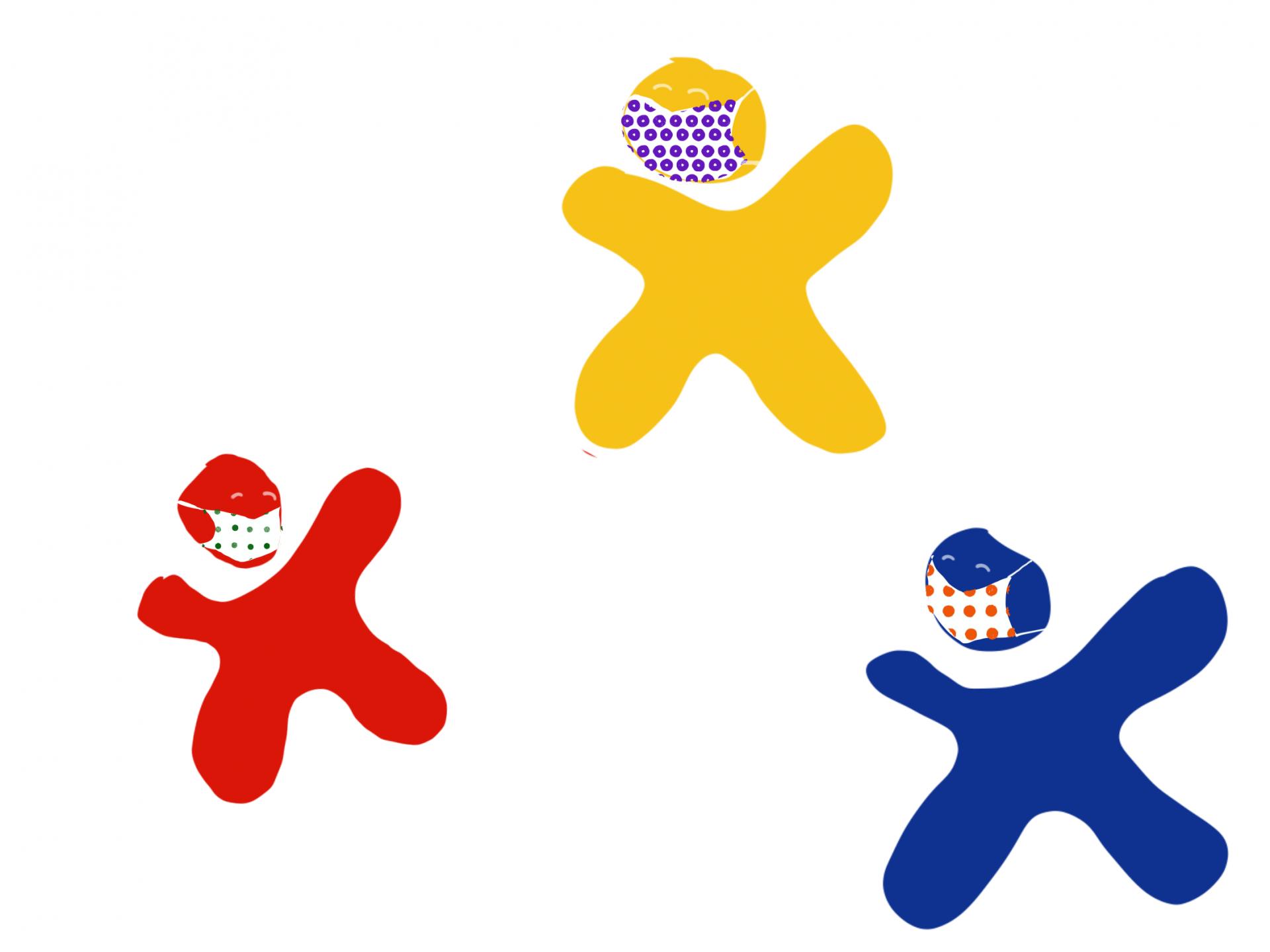 Logo mit Maske