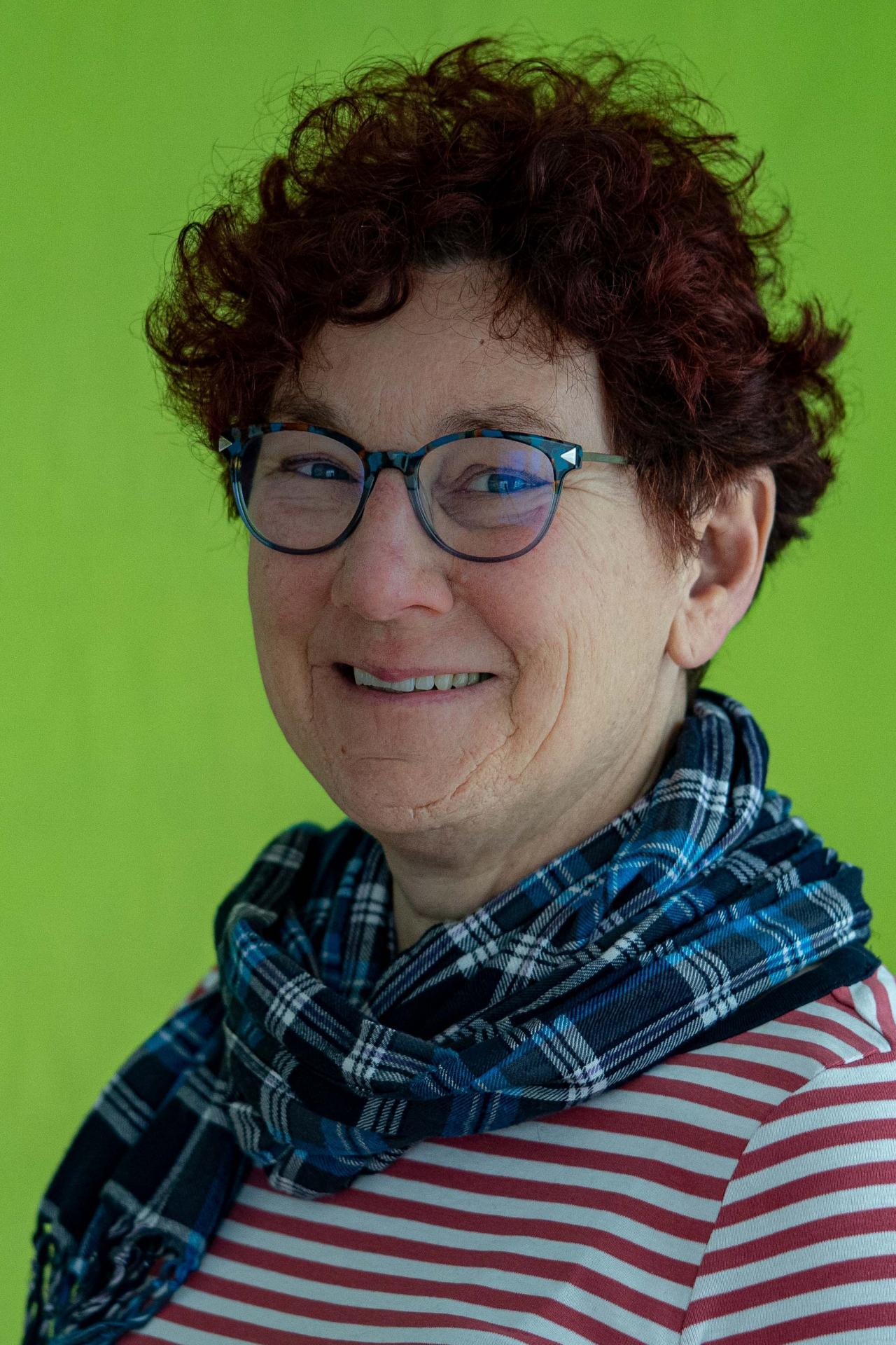 Karin Stolz, Erzieherin Schäfchengruppe