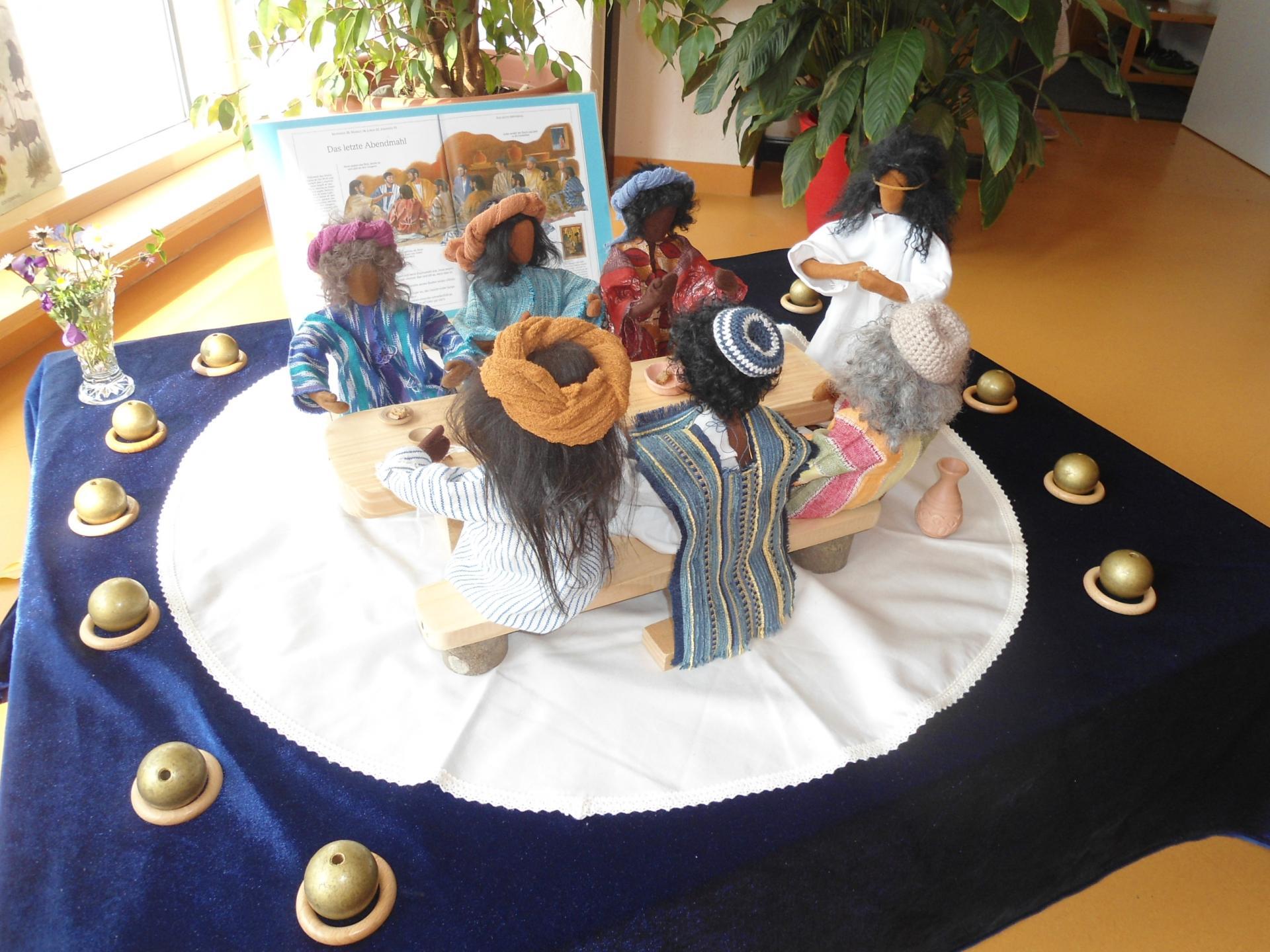 Biblische Erzählfiguren - das letzte Abendmahl
