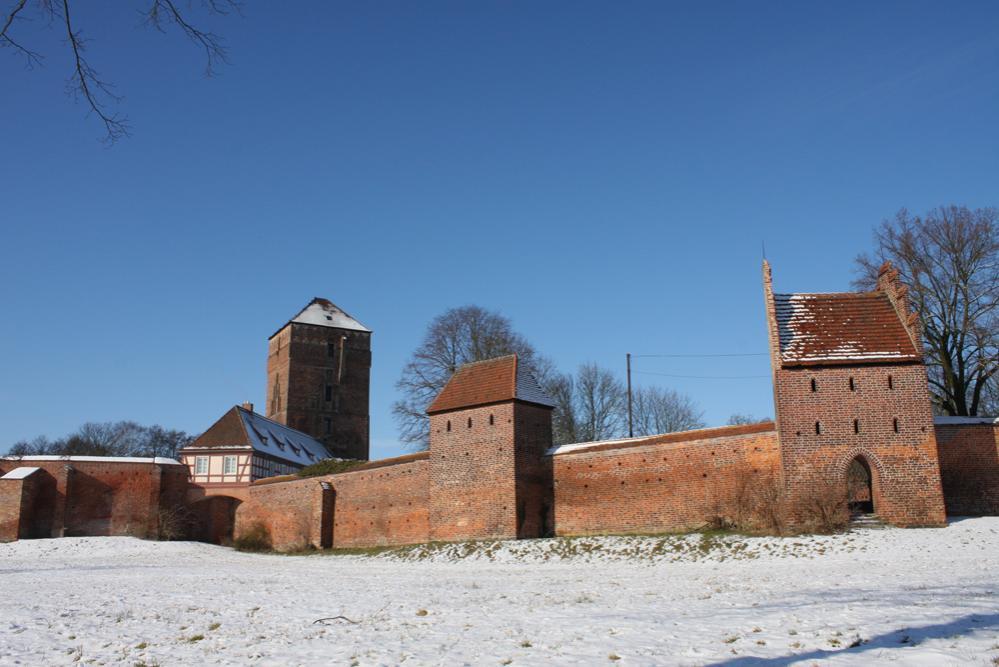 Bischofsburg im Winter
