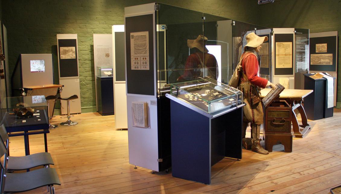 Ebene 4 im Museum des Dreißigjährigen Krieges