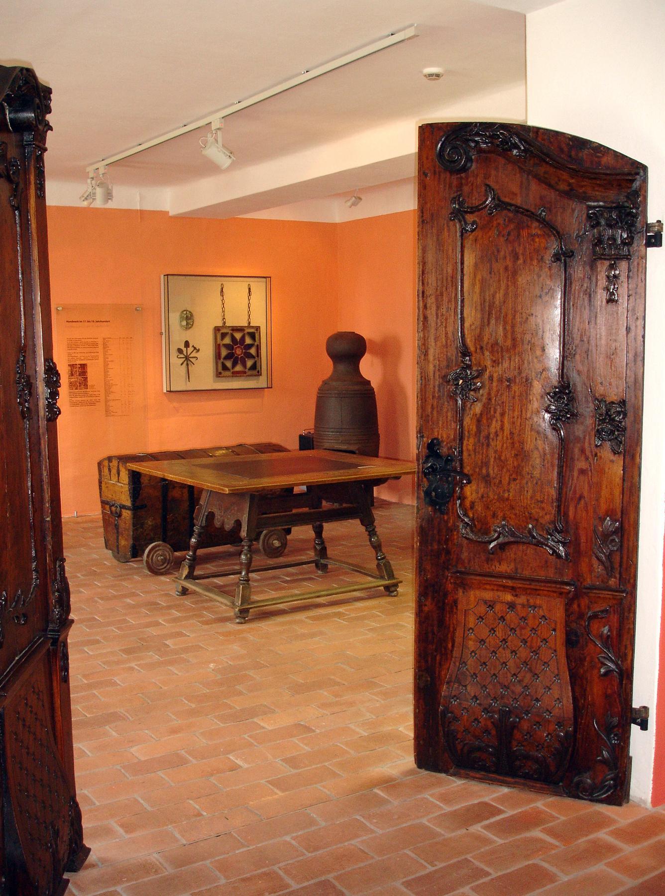 Untere Ausstellungsebene - Regionalgeschichte