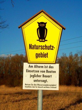 Recknitz - Fahrverbot Altarme