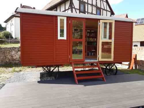 Bücherwagen Gemeinde Jühnde