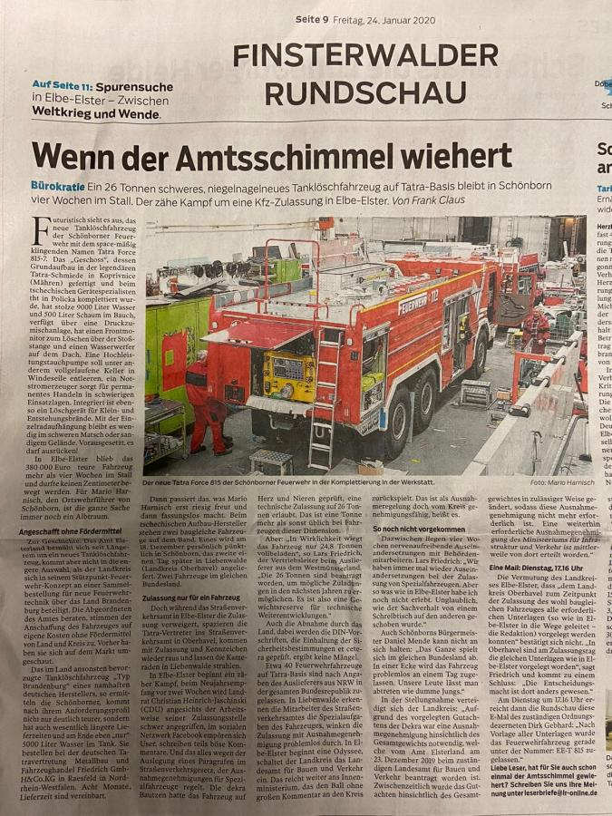 Tatra Zeitung 1