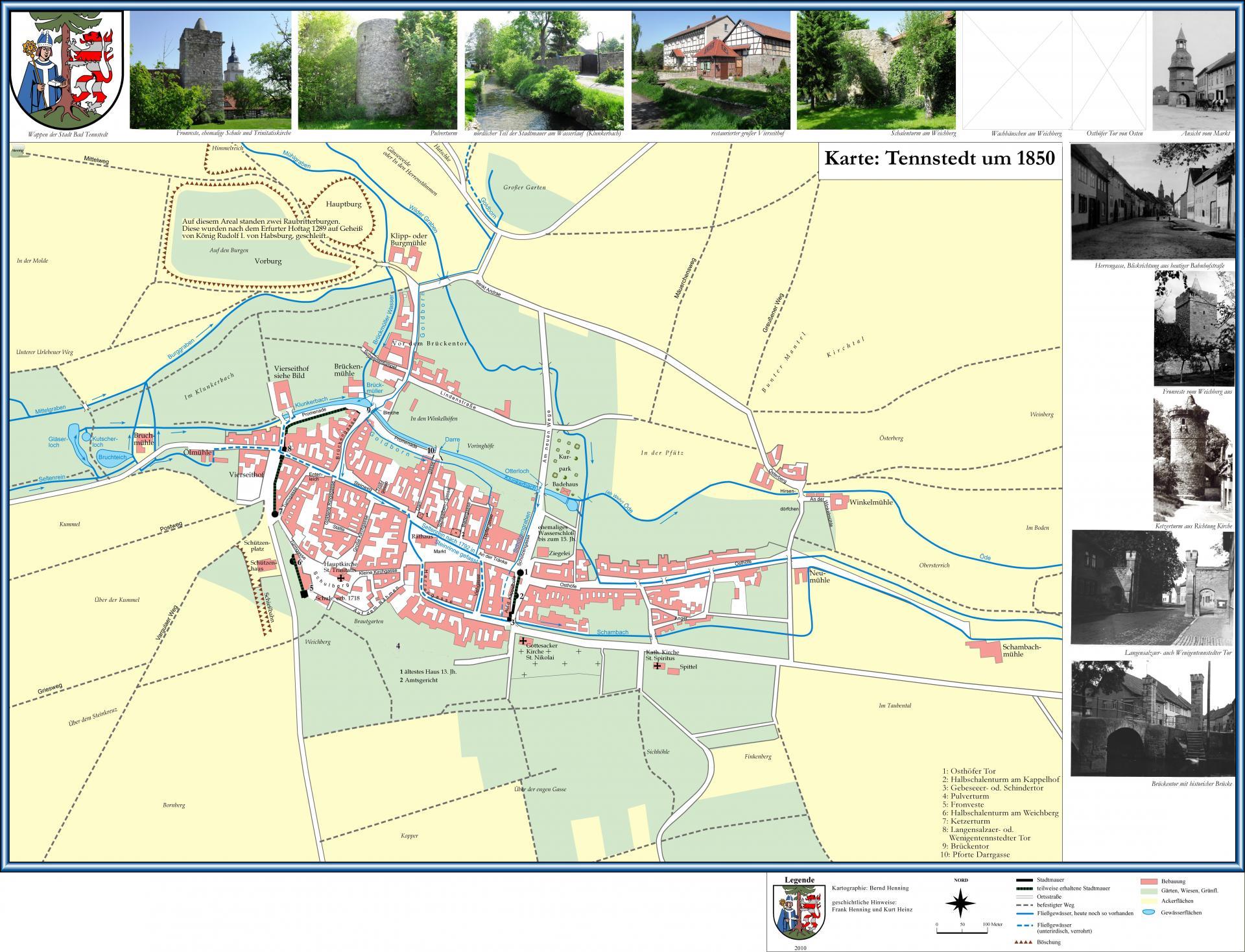Stadtplan/Stadtmauer