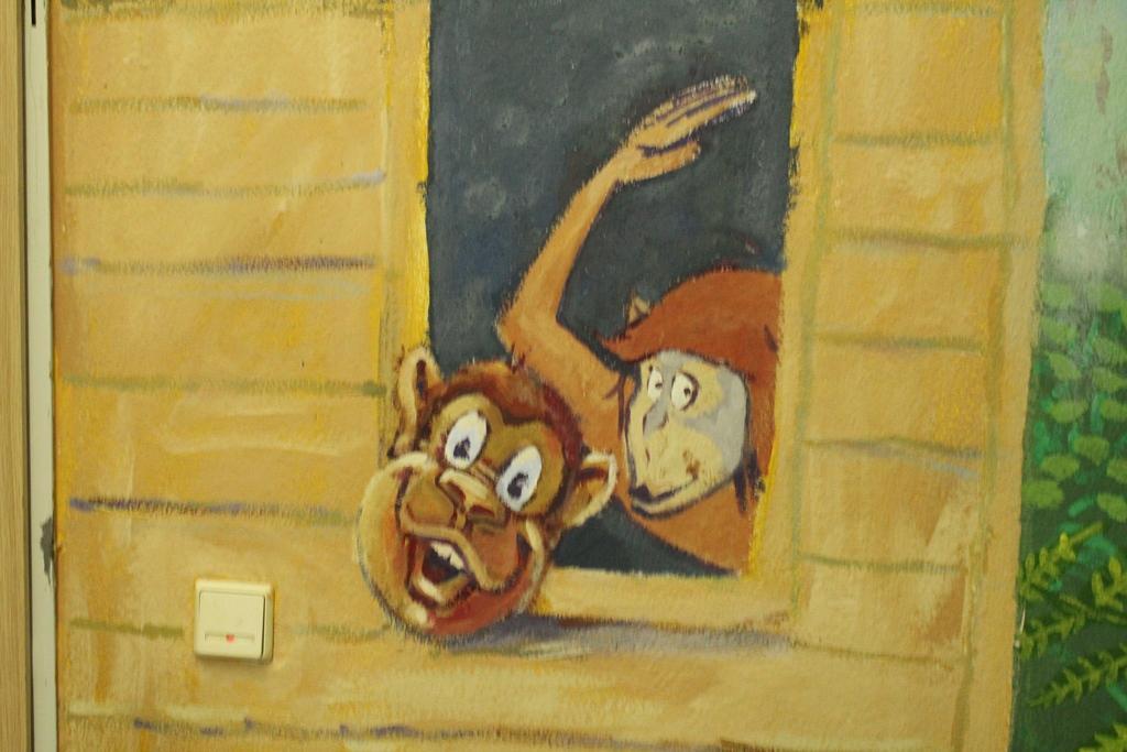 Dschungelhaus, Kunst-AG mit Mr. Miller und Frau Lehmann