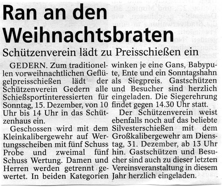 Gederner-Anzeiger 7.12.2019