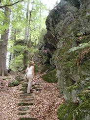 Felswandergebiet