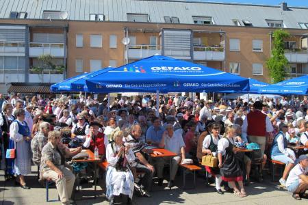 Das Vinzenzifest heute in der Stadtmitte