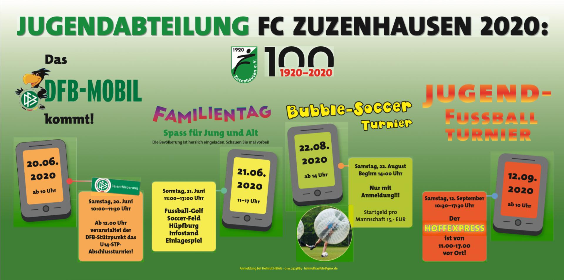 Banner Jugendabteilung