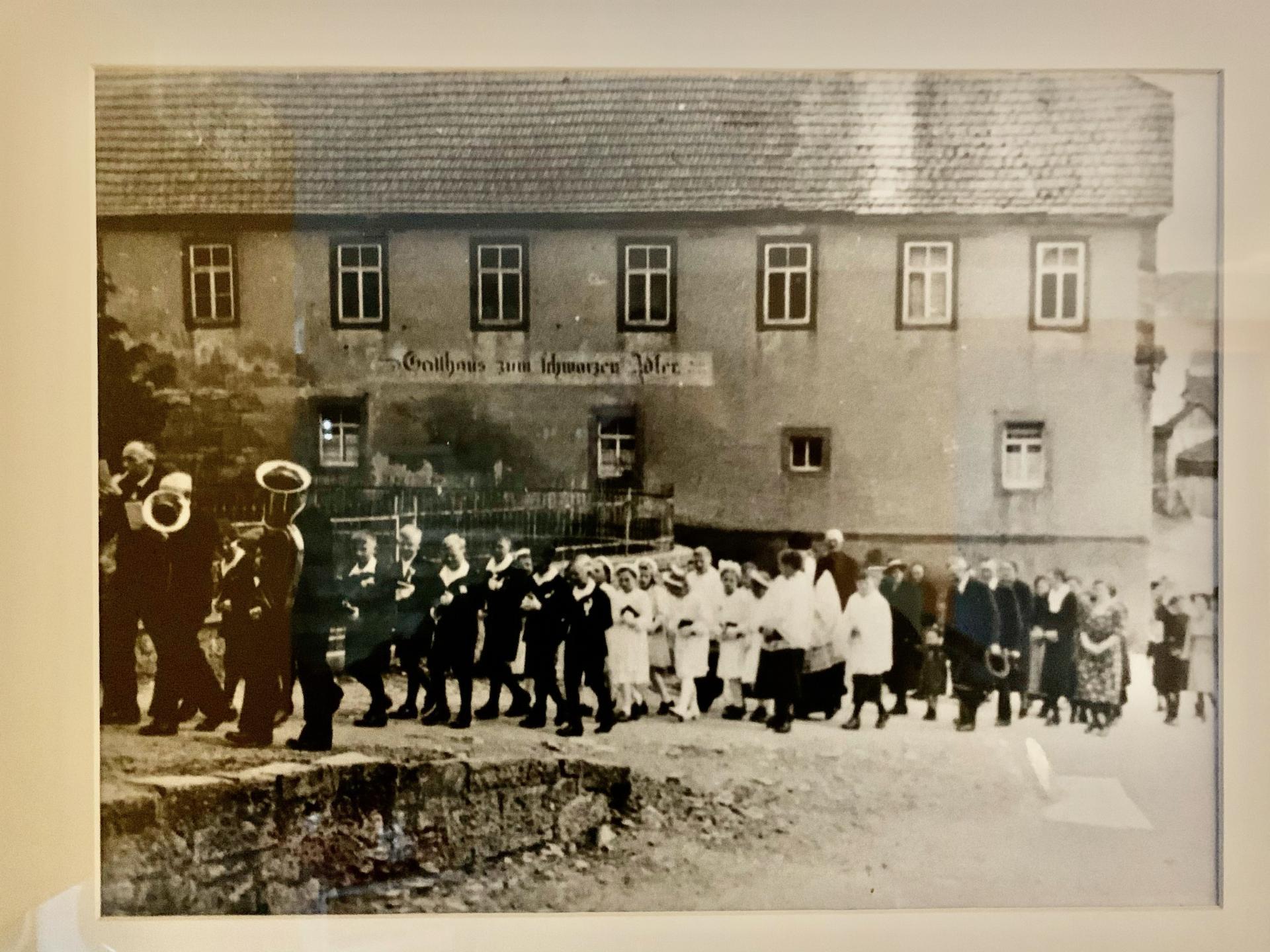 Landgasthof Schwarzer Adler 1945