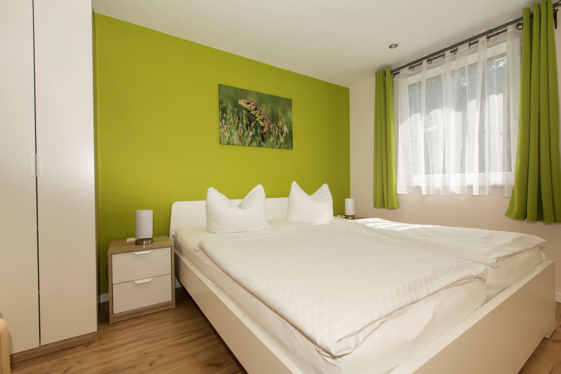 FH Zauneidechse, Schlafzimmer