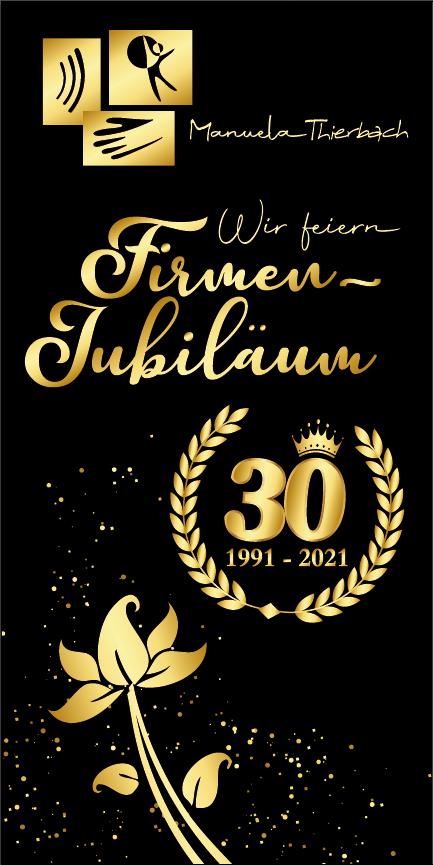 Jubiläums-Banner