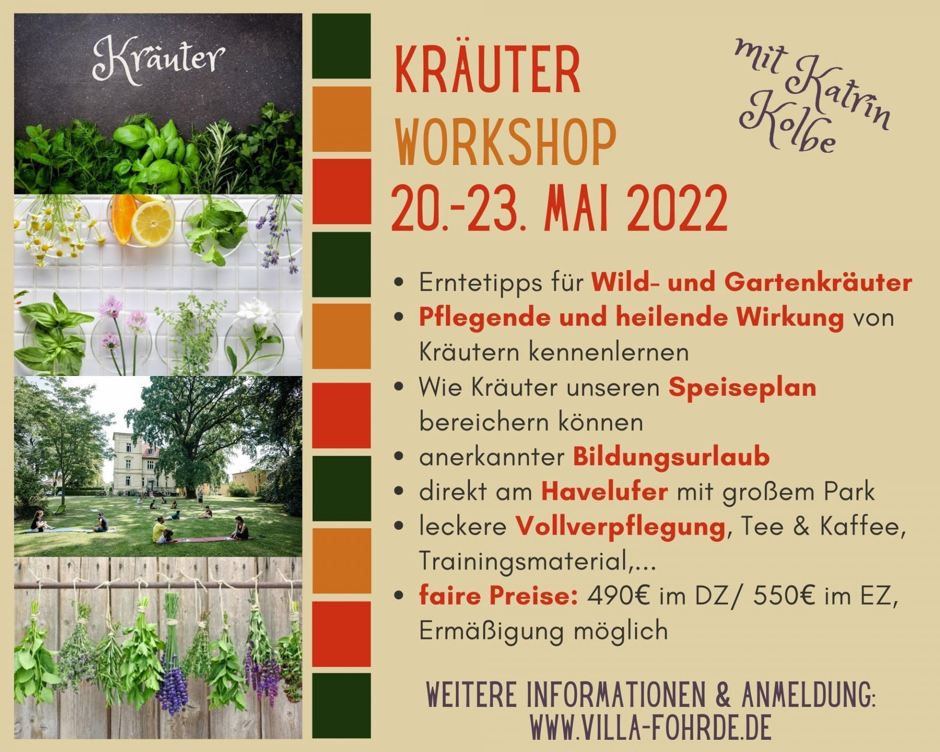 Kräuterworkshop
