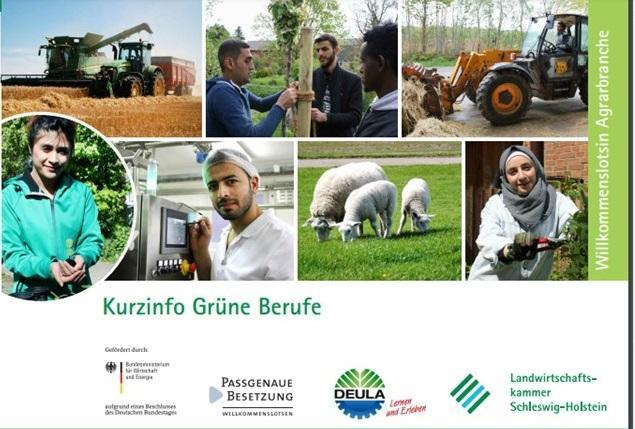 Grüne Berufe Info