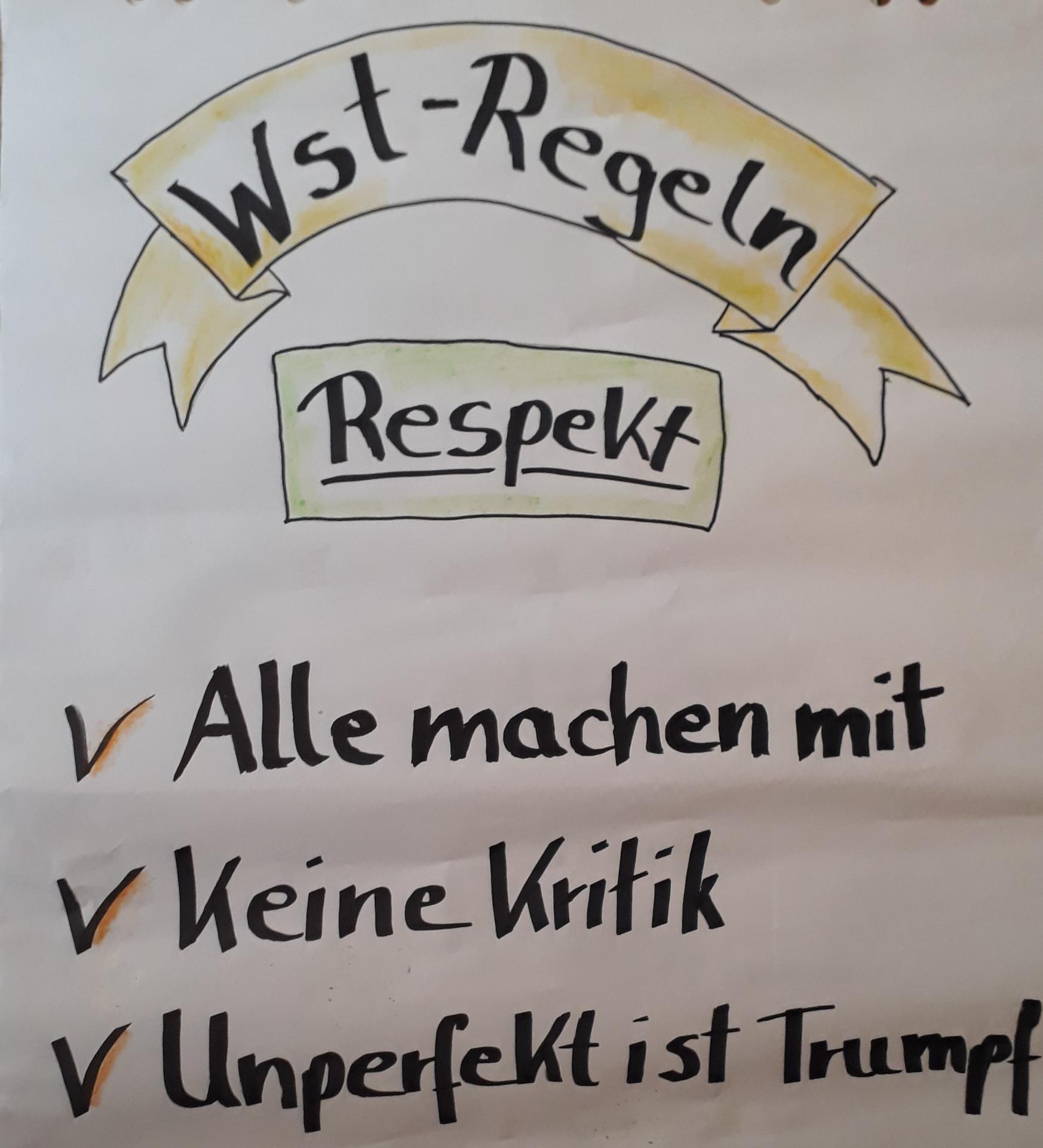 Werkstatt-Regeln