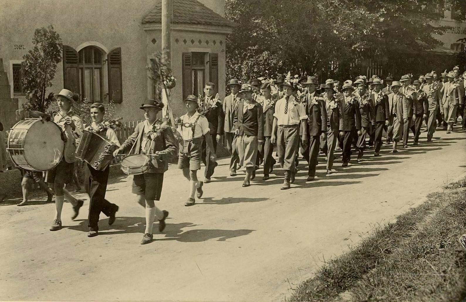 Zusmarshausen Musterung 1914