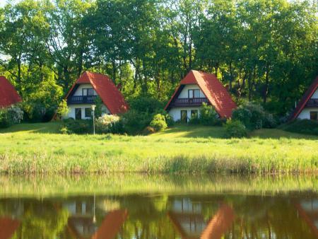 Finnhäuser am Vogelpark Marlow