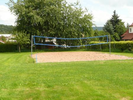 Foto Beach-Volleyballfeld