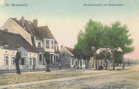 Postkarte - Friedenseichen 1918
