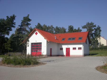 Feuerwehrgerätehaus Ortsteil Fünfeichen