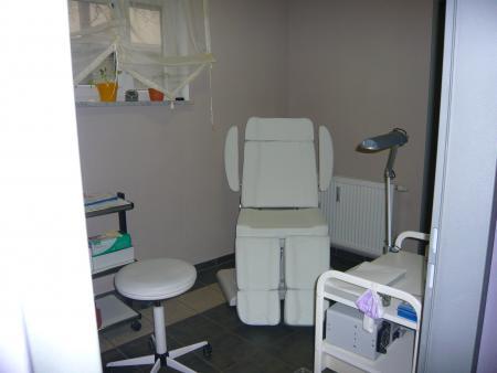 Fußpflegebereich im Kosmetiksalon Mandy Klotzsch