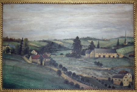 Gemälde Hübner bis Rößlers