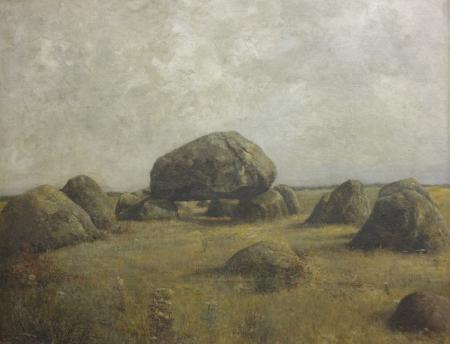 Gemälde Hünengrab Mellen