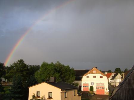 Gerätehaus+Regenbogen