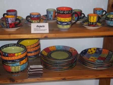 Keramik von Kapula