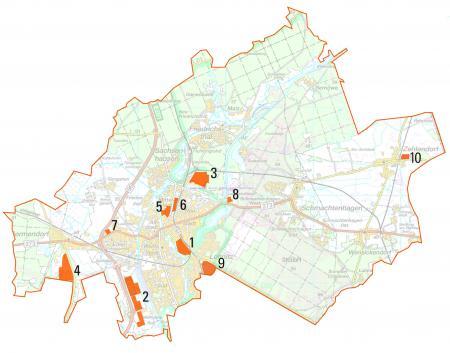 Gewerbegebiete Oranienburg