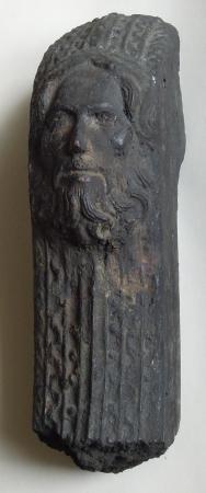 Fragment einer 1916 zerstörten Glocke aus St. Jacobi Perleberg