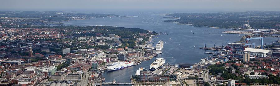 Fährhafen Kiel; Quelle Schlesig-Holstein Tourismus