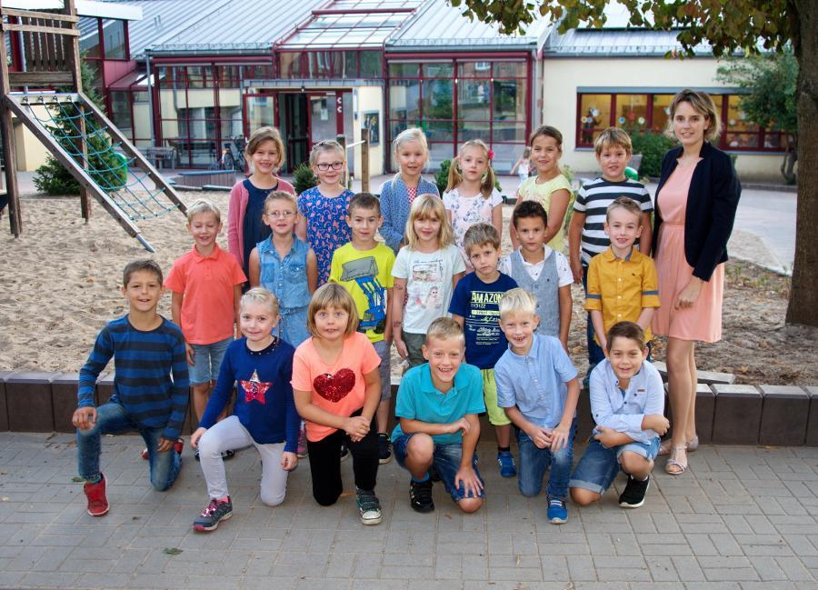 Klasse 1b mit Frau Lüttig