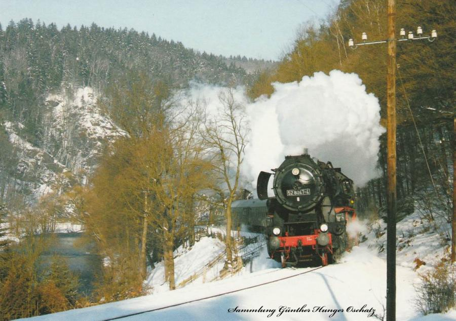 Güterzugdampflokomotive 52 8047