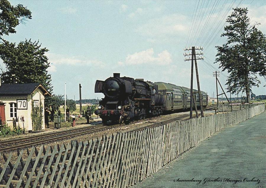 Güterzugdampflokomotive 52 1601