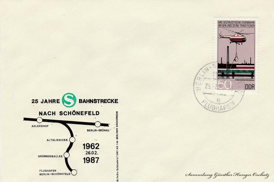 25 Jahre S-Bahnstrecke nach Schönefeld