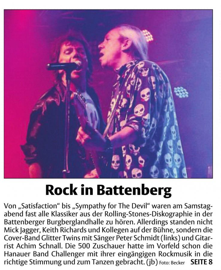 Rock in Battenberg