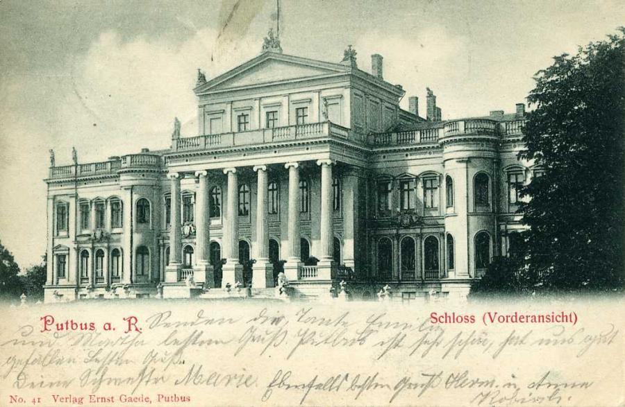 Putbus a. R. Schloss  1900