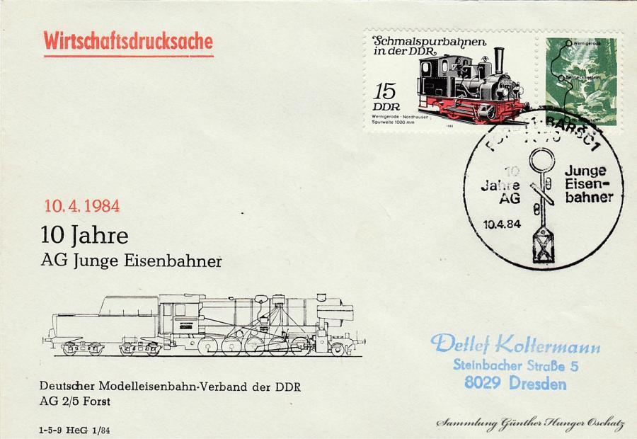 10 Jahre AG Junge Eisenbahner