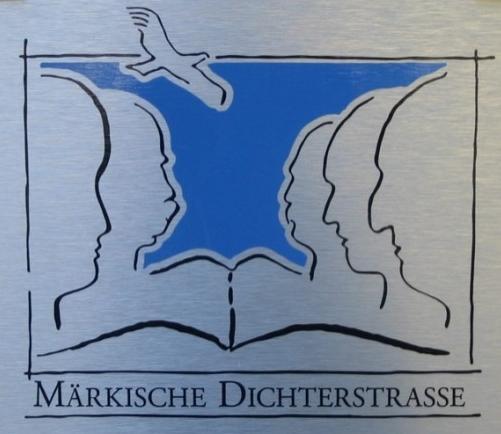 """Tafel der """"Märkischen Dichtertraße"""""""