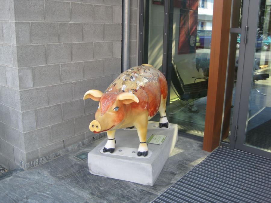 Hopfensau – Der Kuss von Klimt