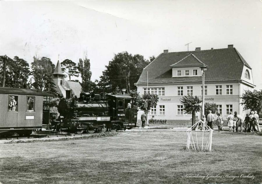 Ostseebad Baabe 1981