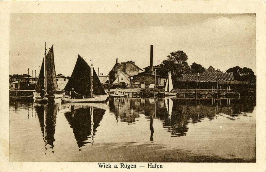 Wiek a. Rügen- Hafen
