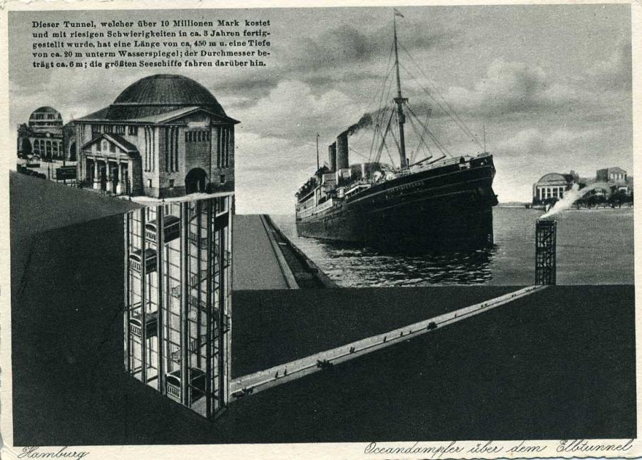 Hamburg Ozeandampfer