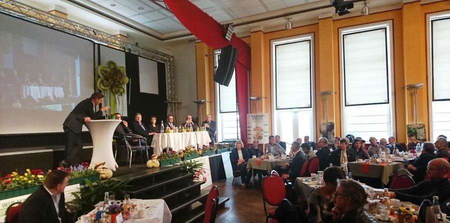Podiumsdiskussion auf dem 25.Verbandstag in Luckau