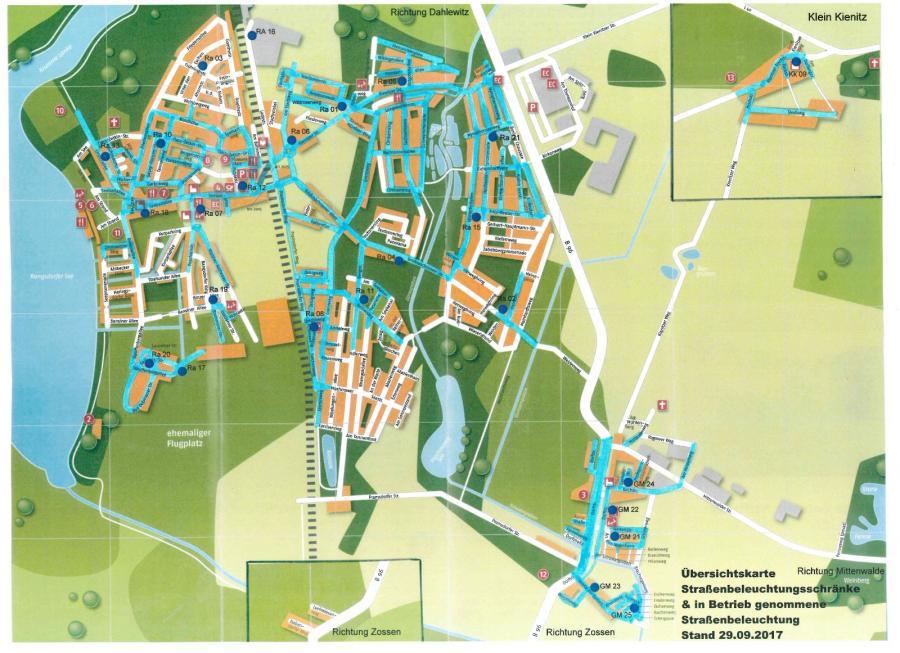 © Gemeinde Rangsdorf - Karte Stand 29.09.2017