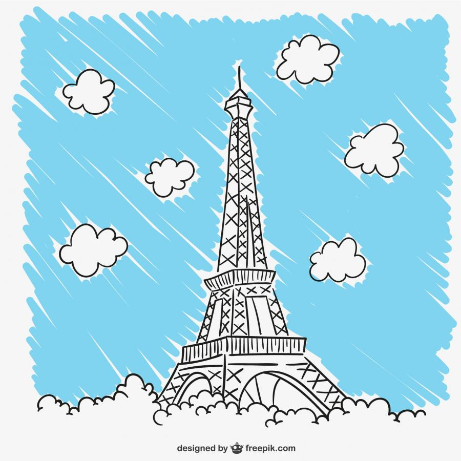 Eiffelturm, Bildnachweis: Designed-by-freepik.com