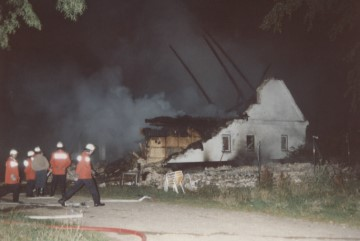 Feueralarm Klueshof 08.08.1992 Harrislee - Niehuuser Straße